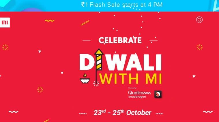Xiaomi, XIaomi Diwali sale, Diwali with Mi sale, Diwali sale Xiaomi, Xiaomi Re 1 flash sale, Poco F1 flash sale, Xiaomi Re 1