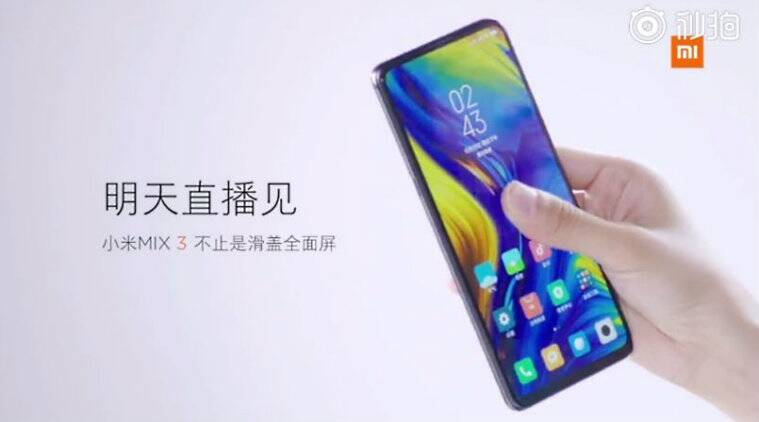 Xiaomi, Mi Mix 3, Mi Mix 3 launch, Mi Mix 3 ad, Mi Mix 3 commercial, Mi Mix 3 china launch, Mi Mix 3 specifications, Mi Mix 3 price, Mi Mix 3 price in India, Mi Mix 3 India launch