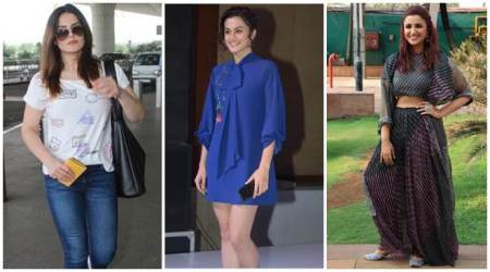Celeb spotting: Zareen Khan, Taapsee Pannu, Parineeti Chopra