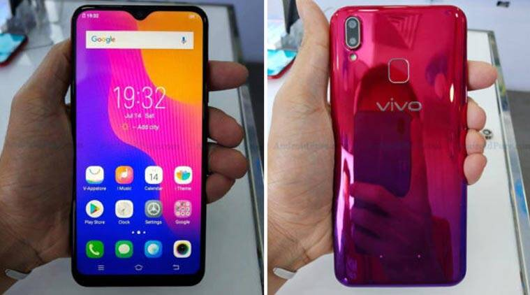 Vivo Y95 leaked images reveal FullView display with notch, dual