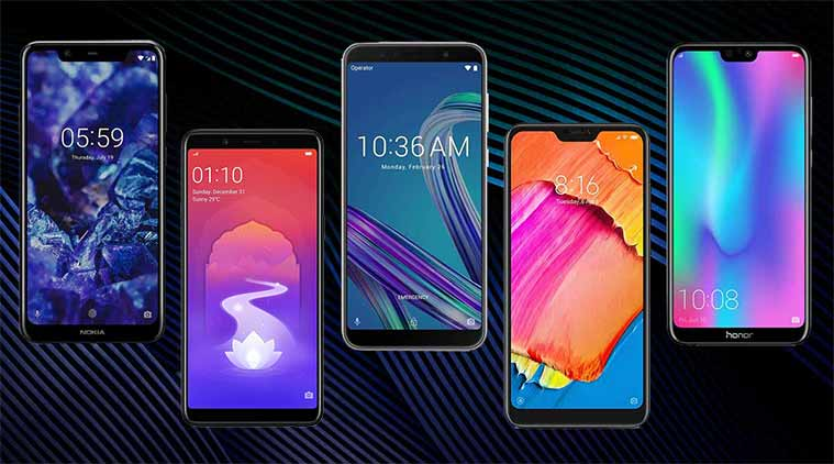best smartphones under rs 13000, smartphones under 13000, phones under rs 13000, best phones under rs 13000, best smartphones, top smartphones under 13000, nokia 5.1 plus, xiaomi redmi 6 pro, asus zenfone max m1 pro, honor 9n realme 1