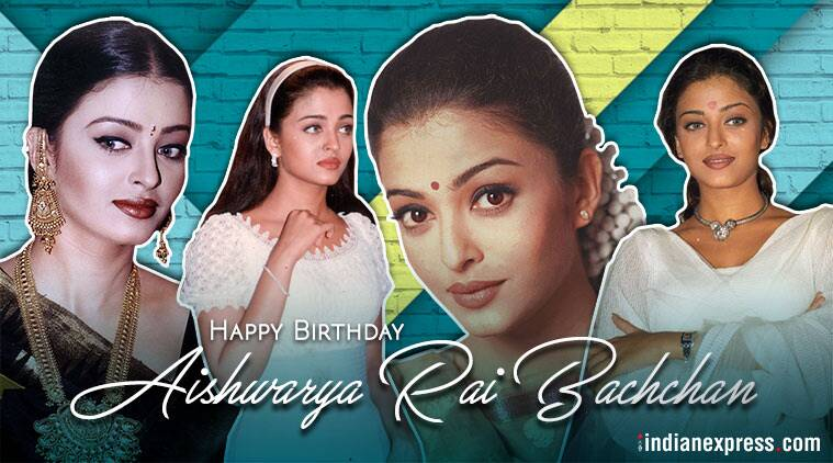 Happy birthday Aishwarya Rai Bachchan