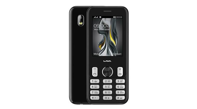 Lava prime z feature phone with 2 4 inch qvga display launched at rs 1900