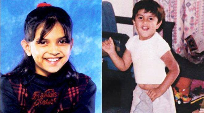 Childhood photos of Deepika Padukone, Ranveer Singh and other Bollywood stars