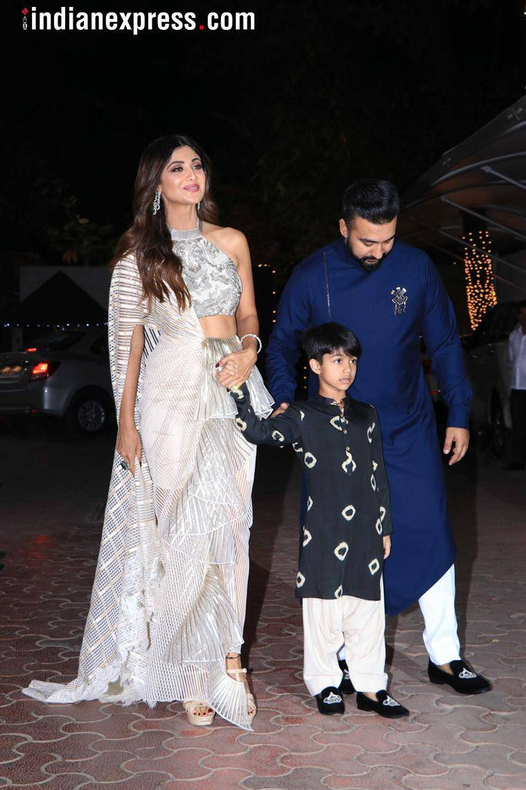 shilpa shetty photos, Shilpa Shetty, diwali bash