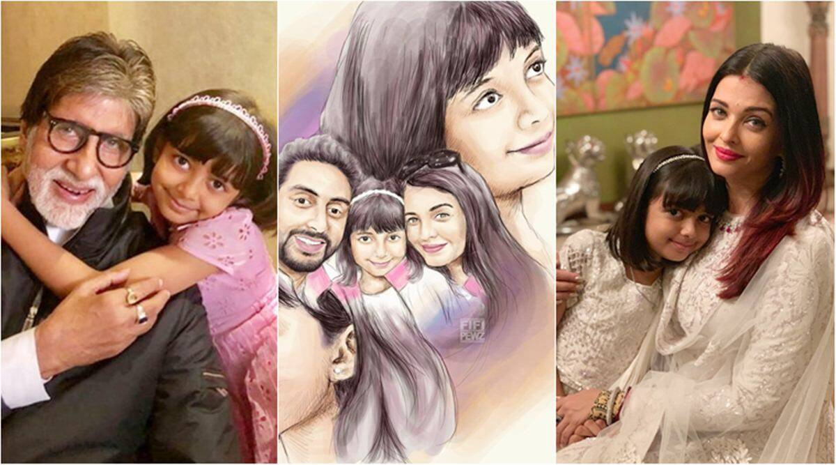 On Aaradhya Bachchan's birthday, looking at her cutest photos with parents Aishwarya and Abhishek