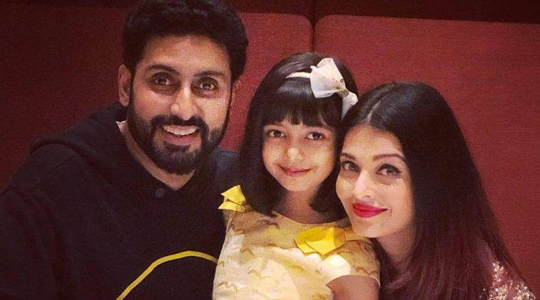 Abhishek Bachchan And Aishwarya Rai Ring In Daughter