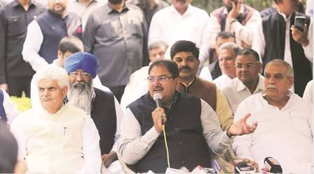 inld, ajay chautala expelled, om prakash chautala expels son, inld chief expels son,Leader of Opposition,Haryana Assembly, haryana politics, former haryana chief minister, indian express, latest news