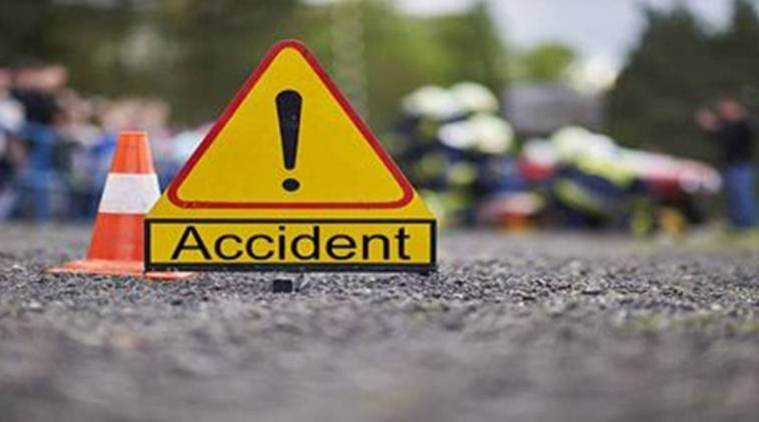Road accident in kurali, pedestrian was killed, punjab news,  Indian express
