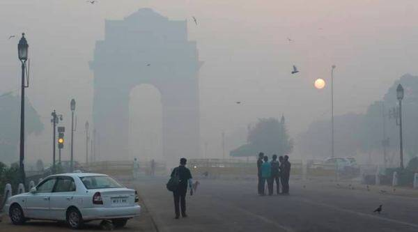 delhi air pollution, delhi air quality, aqi, delhi aqi, air pollution, environmental pollution, delhi pollution, pollution on new year day, new year pollution, delhi on new year, indian express