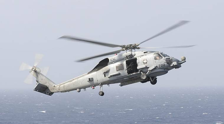 India seeks MH-60 Romeo Seahawk helicopters from US