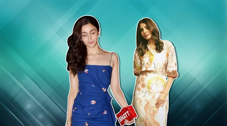 alia bhatt, anushka sharma, alia bhatt latest photos, alia bhatt latest look, alia bhatt fashion, anushka sharma zero, anushka sharma zero promotions, anushka sharma fashion, anushka sharma latest photos, indian express, indian express news