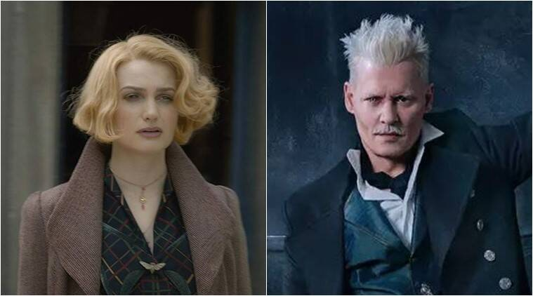 alison sudol on fantastic beasts the crimes of grindelwald actor johnny depp