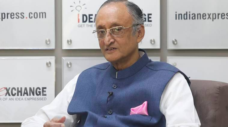 West Bengal Finance Minister Amit Mitra.