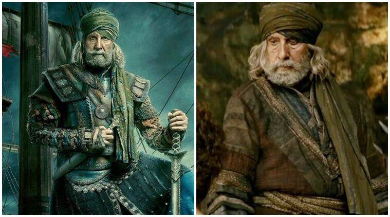 amitabh bachchan costume designer in thugs of hindostan