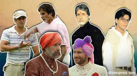amitabh bachchan with khans films