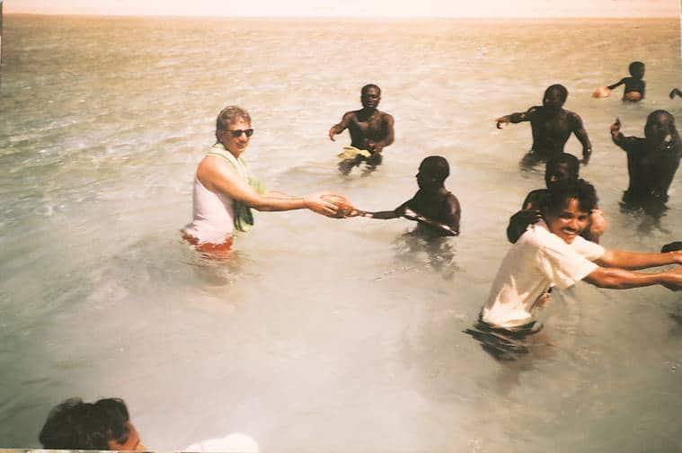 Andaman, north sentinel island, man killed by sentinelese tribes, t n pandit, anthropologist, John Allen Chau, american tourist, indian express