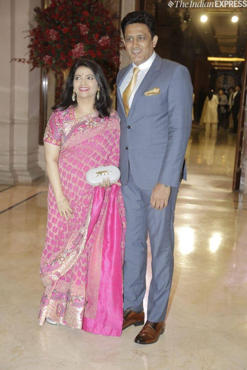 anil kumble with wife
