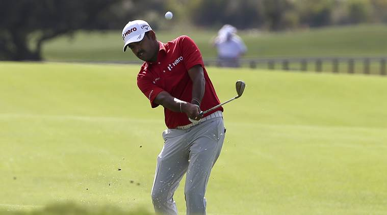Anirban Lahiri has a late start as four players share early lead at Players