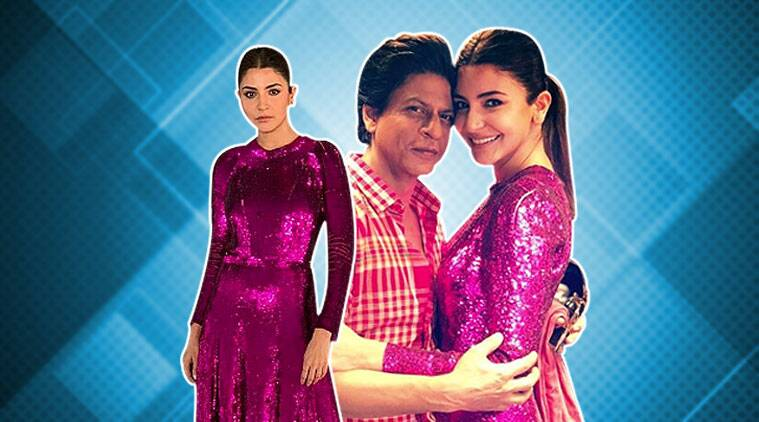 Anushka Sharma rocks this pink sequin midi dress