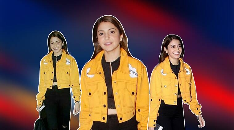 anushka sharma, anushka sharma airport, anushka sharma wax statue, anushka sharma recent photo, anushka sharma falguni peacock outfit, indian express, indian express news