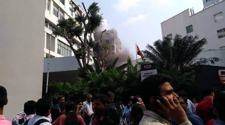 Kolkata: Fire breaks out at Apeejay House, 12 fire tenders at spot