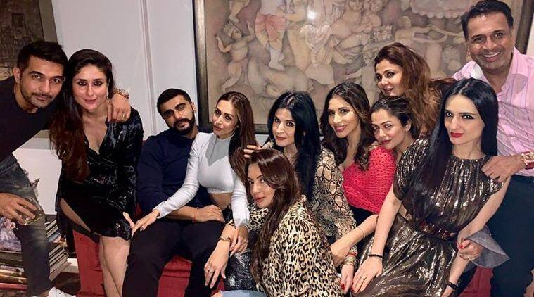 arjun kapoor, malaika arora party