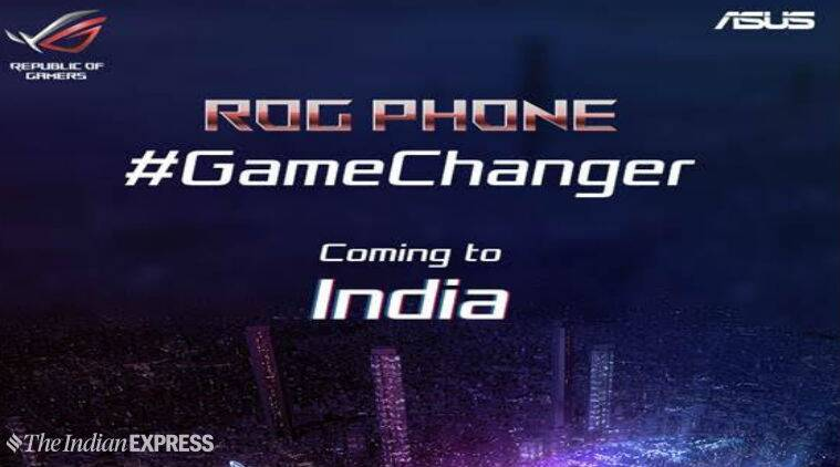 Asus Rog Gaming Smartphone Coming To India On November 29 Company