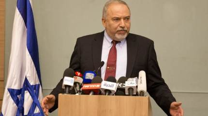 Israeli defence minister quits over Gaza truce in blow to PM BenjaminNetanyahu