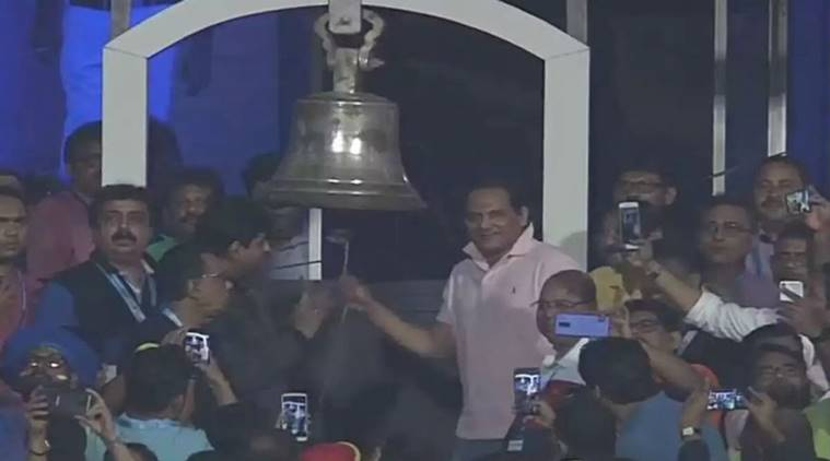 Gambhir slams cricket administrators after Azharuddin rings Eden Gardens' bell