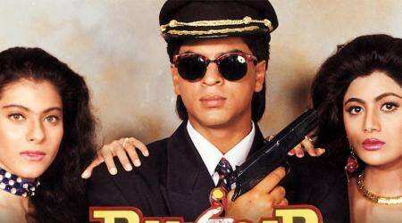 baazigar was shot with two endings