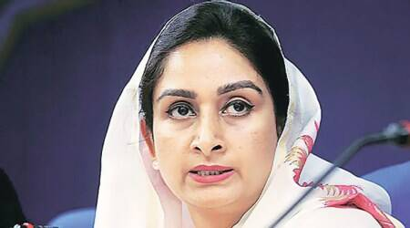harsimrat badal urged rajasthan cm on langar sewa, langar sewa at Acharya Tulsi Regional Cancer Institute, Union Minister of Food Processing Industries, Harsimrat Kaur Badal, Rajasthan Chief Minister Ashok Gehlot, india news, indian express