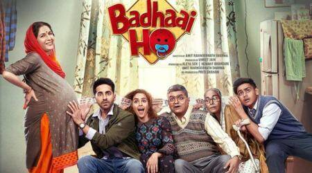 badhaai crosses rs 100 crore mark at the box office