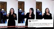 BBC's sign language interpreter is winning over the Internet with her 'perfect' analysis of Brexit