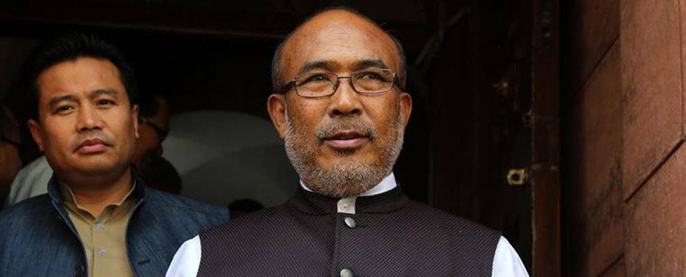 Manipur Chief Minister N Biren Singh , militant group, extortion, insurgency, north east news, myanmar, india news, indian express