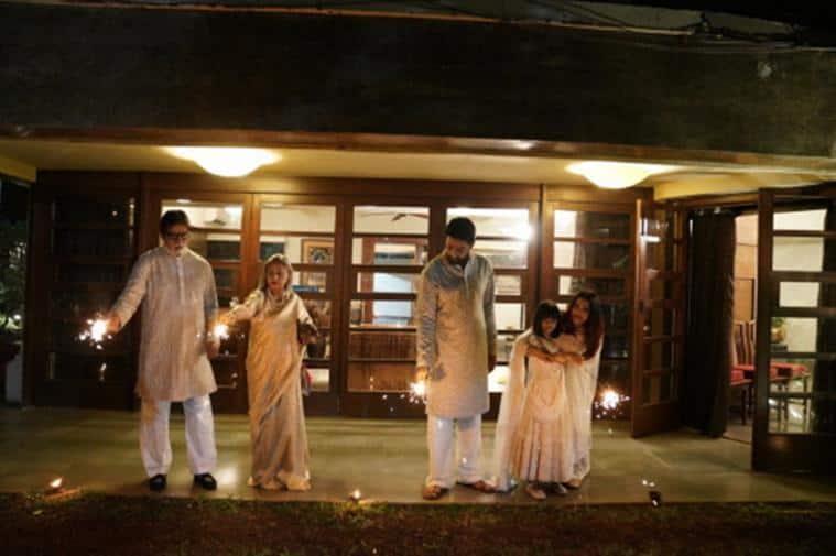 amitabh bachchan family photos