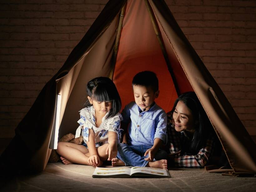kids reading early