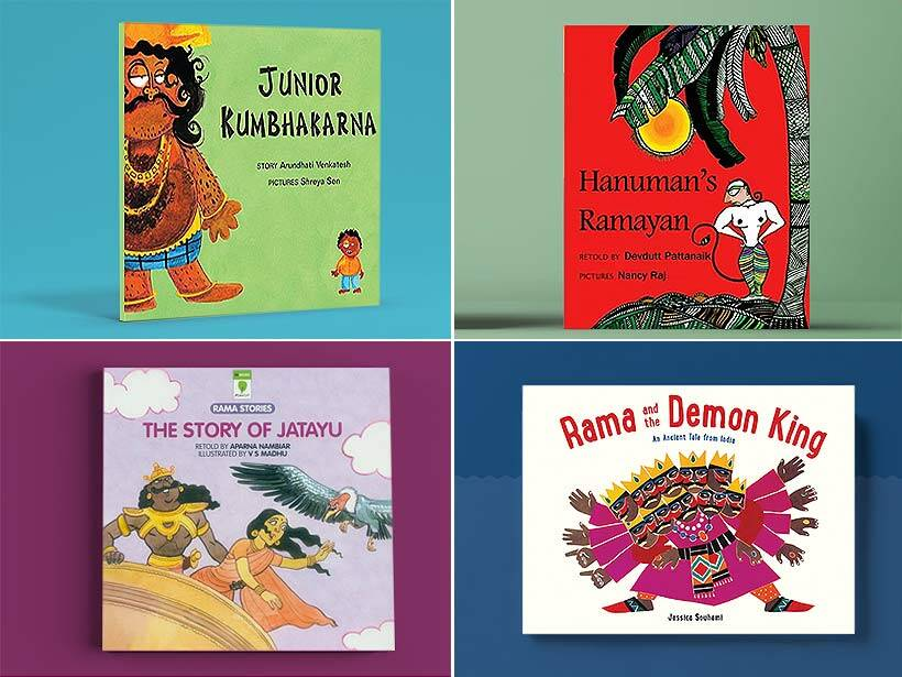 10 books that bring alive stories from Ramayana for kids