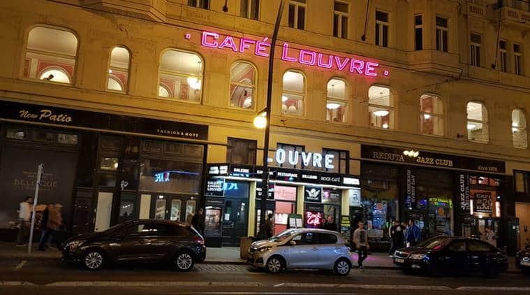 Café Louvre, Prague, Franz Kafka's home,  Národní Trída (National Avenue), Bohemian Jewish novelist