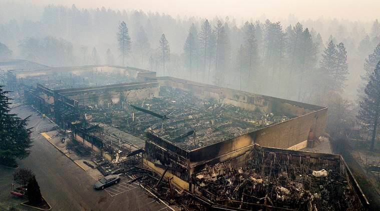 Desperate search for over 1,000 still missing in California wildfires