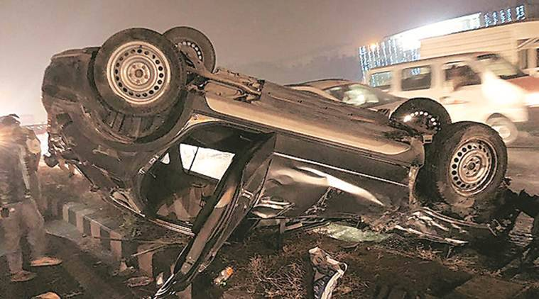 Delhi woman dead in crash with SUV being driven by 'drunk' 22-year-old DU student