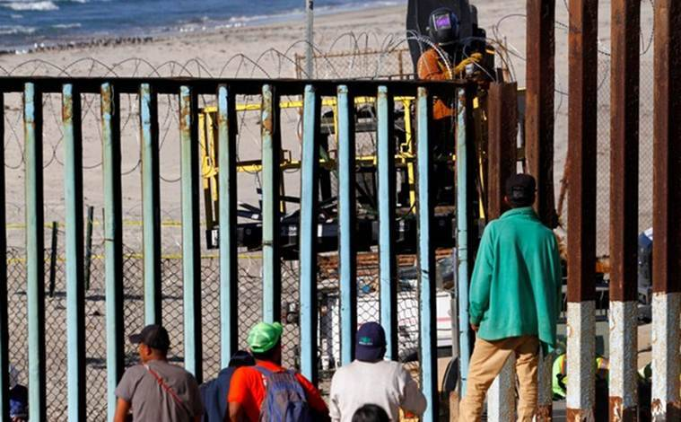 Central Americans stalled at US-Mexico border, mull work offers