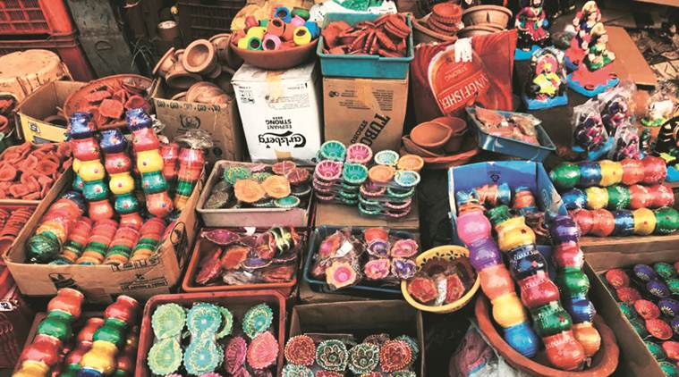 'Made in India' products in demand this Diwali, shopkeepers rue poor turnout