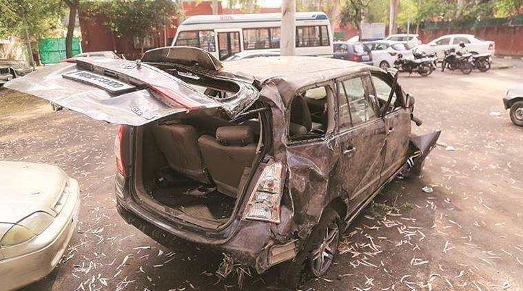 Two killed, four injured in separate road accidents in Chandigarh