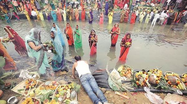 Govt push takes Chhath Puja ghats from 72 in 2014 to 1,055 this year