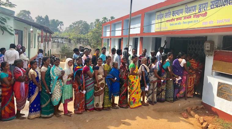 Chhattisgarh records 70 per cent polling in first phase thumbnail