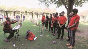 First World War centenary: When Kirkee War Cemetery tuned to musical melodies by IISER choir
