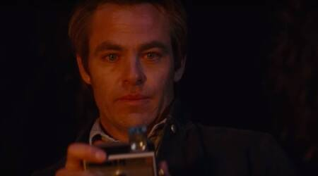 chris pine in I Am the Night trailer