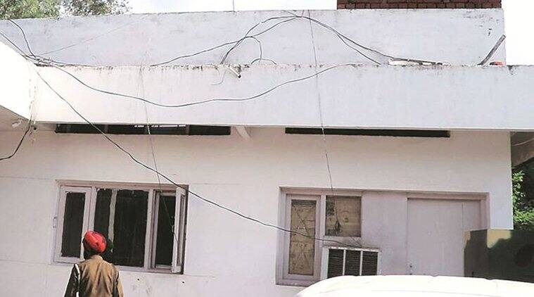 Chandigarh: Security posts set up at Derabassi police station but without any security personnel