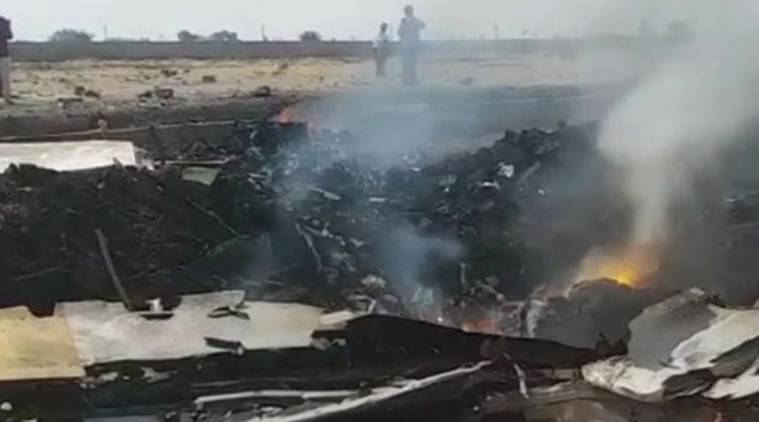 IAF trainer aircraft crashes in Telangana; pilot ejects safely